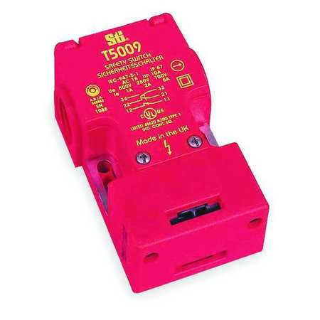 Safety Interlock Switch, 1NO/1NC, 5A@100V