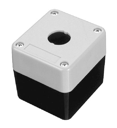 Pushbutton Enclosure, 2.67 in., 1 Hole