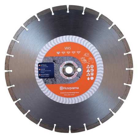 Diamond Saw Blade, Masonry, 12 in. Dia.