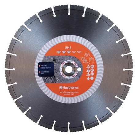 Diamond Saw Blade, Masonry, 16 in. Dia.