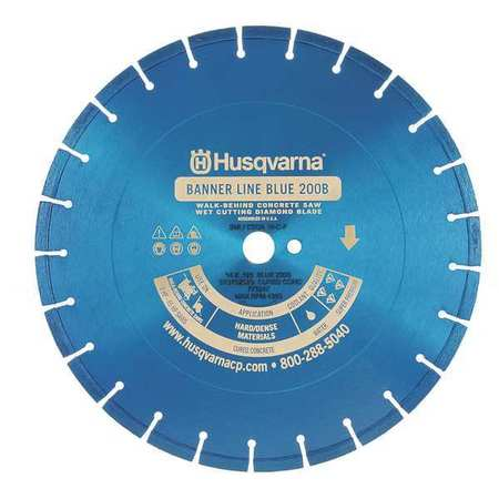 Diamond Saw Blade, Masonry, 14 in. Dia.
