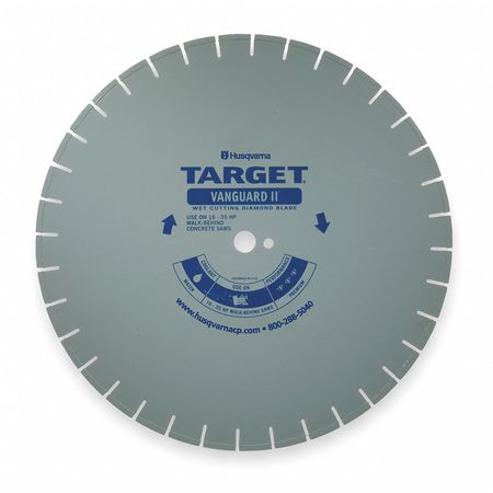 Diamond Saw Blade, Masonry, 18 in. Dia.