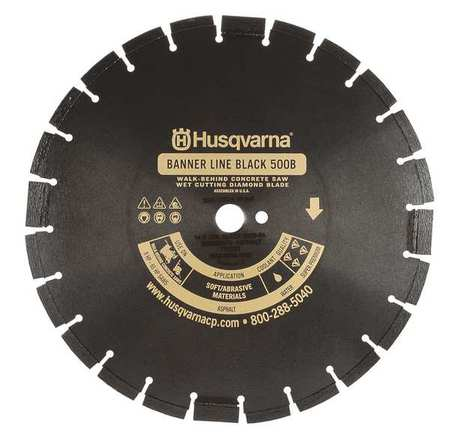 Diamond Saw Blade, Masonry, 20 in. Dia.