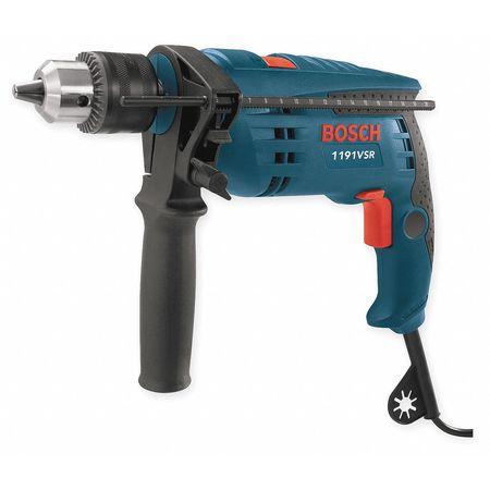 "Hammer Drill Kit, 1/2"", 7.0A, 0-48, 000bpm"