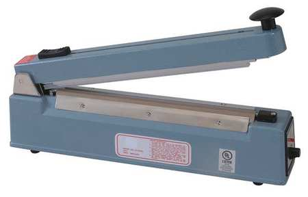 Hand Operated Bag Sealer, Table Top , 8In