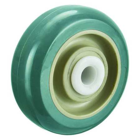 Caster Wheel, 5 in., 440 lb., Blue