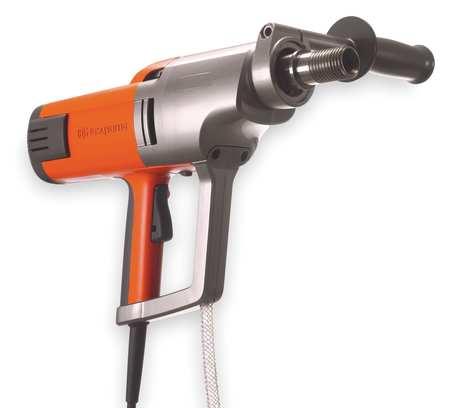 "Handheld Coring Drill, 120/240VAC, 15A, 6"""