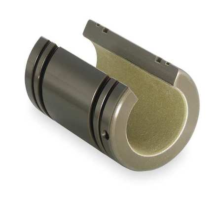 Plain Bushing Bearing, Open, ID 0.750 In