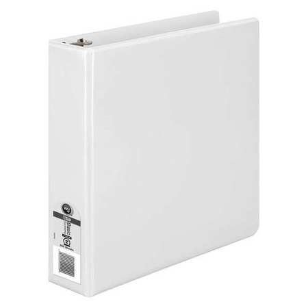 "2"" Round Ring Basic Binder,  White"