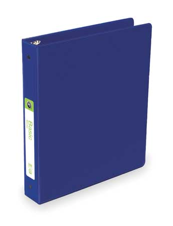 "1-1/2"" Round Ring Basic Binder,  Blue"