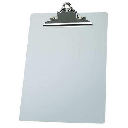 Clipboard, Letter, Silver