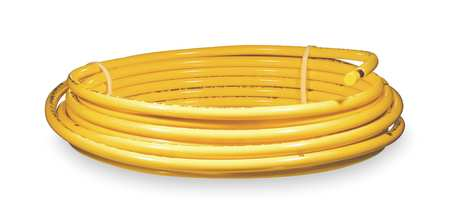 "1/2"" OD x 50 ft. YL Plastic Coil Copper Tubing Type ACR"