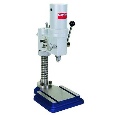 "Bench Drill Press, Belt, 9-5/8"", 1/4HP, 120V"