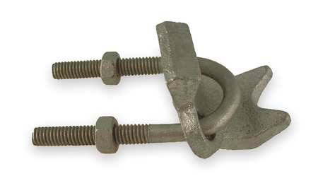 Right Angle Conduit Clamp, Malleable Iron