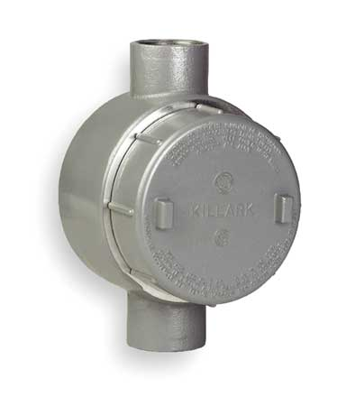 Conduit Outlet Body, C, 1/2 In.
