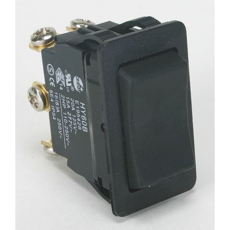Rocker Switch, DPDT, 6 Connections