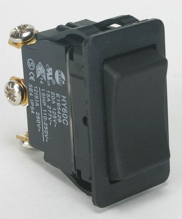 Rocker Switch, SPDT, 3 Connections