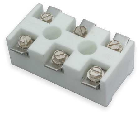 Ceramic Terminal Block, 1-1/4x2-7/16 in.