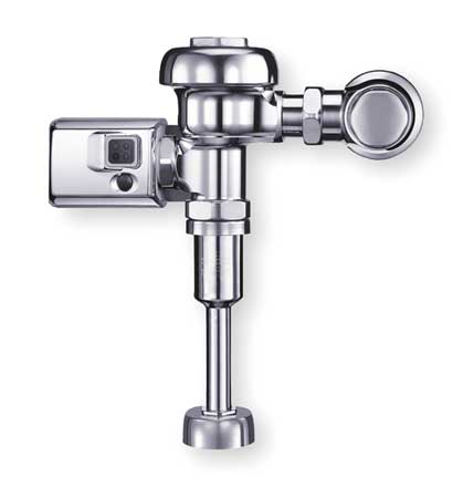 "Automatic Flush Valve,  Urinal,  1.5 gpf,  Inlet Size 3/4"",  Spud Coupling Size 3/4"""