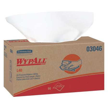 "Disposable Wipes,  10-5/8"" x 10"",  9 Pack,  90 Sheets/ Pack"
