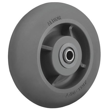 Caster Wheel, TPR, 6 in., 450 lb., Ball