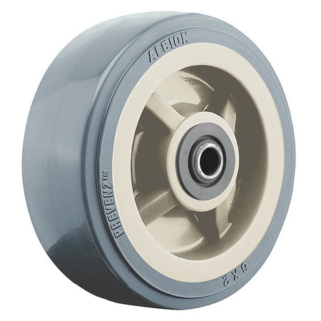 Caster Wheel, 5 in., 750 lb., Tan Core
