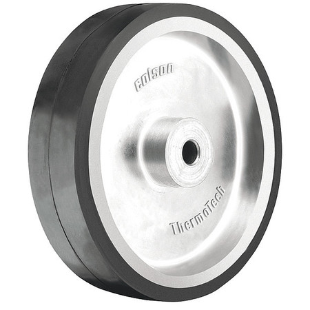 Caster Wheel, Rubber, 4 in., 250 lb.
