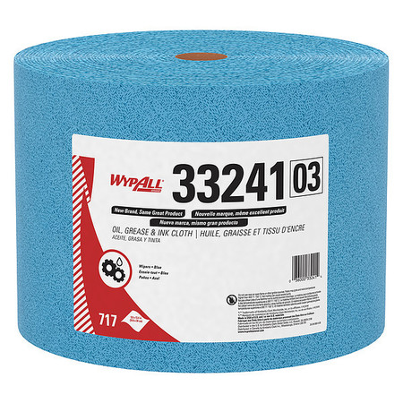 Kimtech Prep Kimtex Towel Roll, Box, Blue