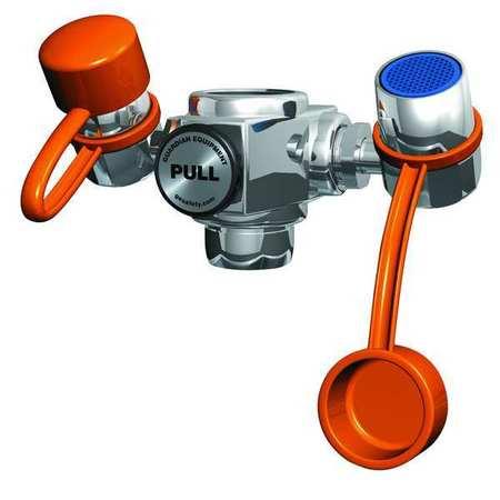 Eyewash, Faucet Mount, 4-1/4 W, 2-1/4 D