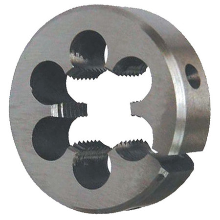 Rd Adjustable Die, CS, 9/16-18, 2 In OD