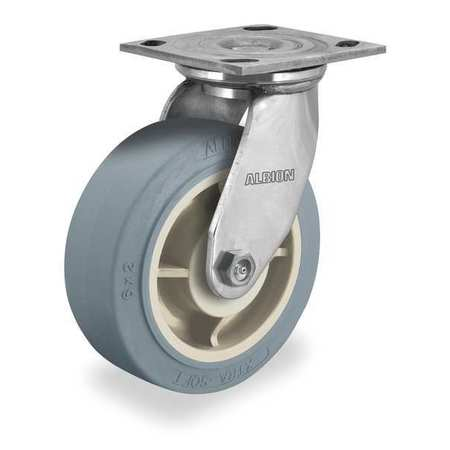 Swivel Plate Cstr, Delrin, Stainless Steel