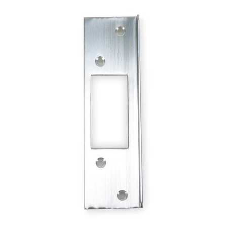 Latch Guard,  Aluminum,  6 x 1-3/4 In.