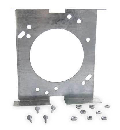 Motor Mtg Bracket, Butt Type, Galv Steel