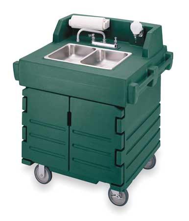 Cambro Hand Sink Cart 110v Eaksc402192 Zoro Com