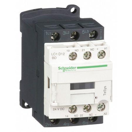24VDC Non-Reversing IEC Magnetic Contactor 3P 12A