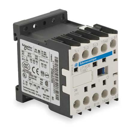 IEC Mini Magnetic Contactr, 24V, 12A, 1NO