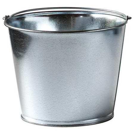Mop Bucket, 1-1/4 gal., Silver