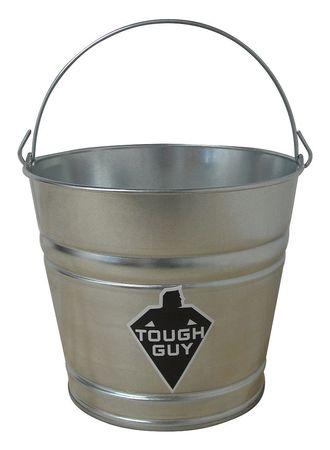 Mop Bucket, 2-1/2 gal., Silver