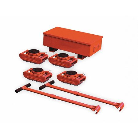 Equipment Roller Kit, 88, 000 lb., Swivel