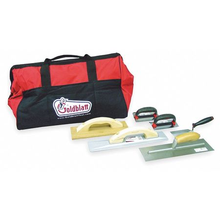 Concrete Apprentice Tool Kit, 6 Pc