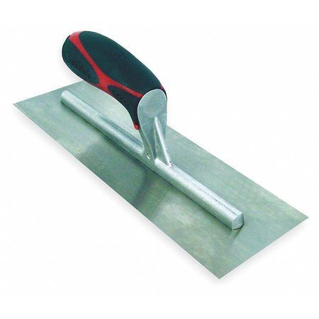 Concrete Finish Trowel, 12 In, Square End
