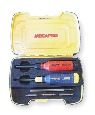 Multi-Bit Screwdriver Set, 15-in-1, 19 Pc