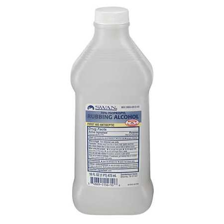 Isopropyl Rubbing Alcohol, Bottle, 16 oz.