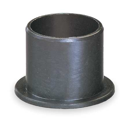 Flanged Bearing, 1/2 IDx3/4 In L, PK2