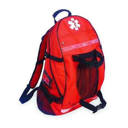 """17-1/2"""" Backpack Trauma Bag,  Orange"""