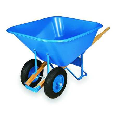 Wheelbarrow, Poly, 10 Cu. Ft., Pneumatic