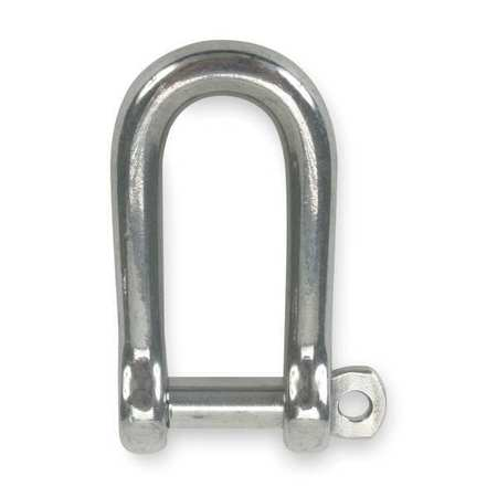 Forged D Screw Shackle, Screw Pin, 1500 lb