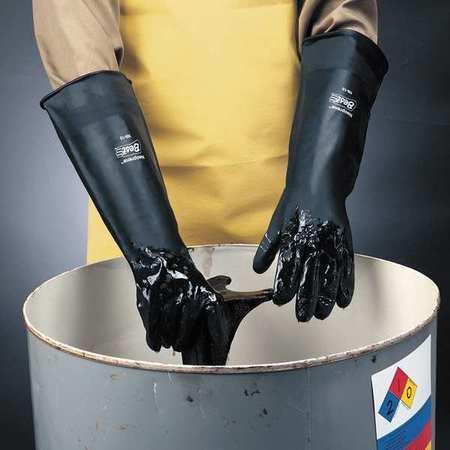Chemical Resistant Glove, Sz 10, PR