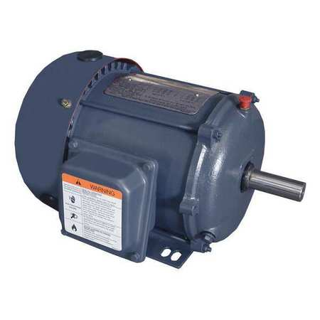 Mtr, 3 Ph, 1 HP, 3475, 208-230/460V, Eff 77.0
