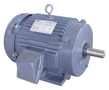 Mtr, 3 Ph, 7.5hp, 3510, 208-230/460, Eff 89.5